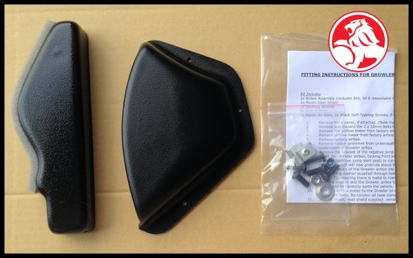 VE V6 & V8 Replacement Air Dam & Heat Shield Kit (PRICE INCLUDES SHIPPING)